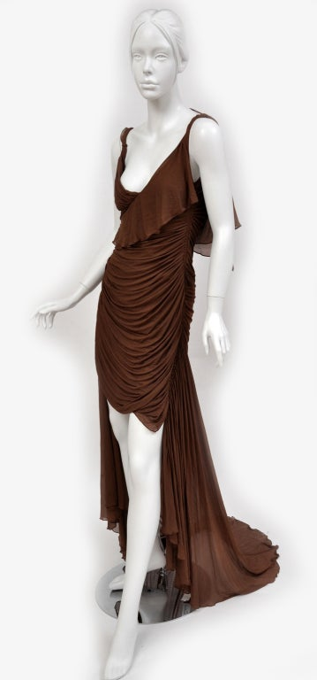 Tom Ford For Gucci Greek Goddess Silk Gown, 2003