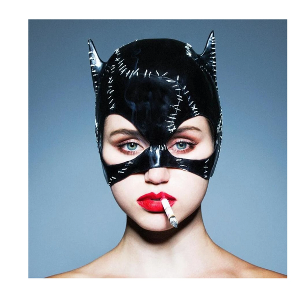 Cat Woman by Tyler Shields, Dye Transfer, 2018