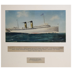 HAYNES, GOING TO AND RETURNING FROM GLACIER NATIONAL PARK AND THE PACIFIC COAST TRAVEL ON THE STEAMSHIP NORTHLAND…