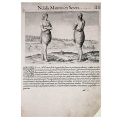 THEODORE DE BRY (1528-1598), AFTER JOHN WHITE (C. 1540-1593), NOBLIS MATRONA EX SECOTA IIII