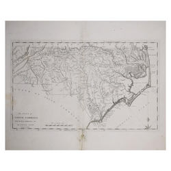 MATTHEW CAREY (1760-1839), THE STATE OF NORTH CAROLINA..BY SAMUEL LEWIS