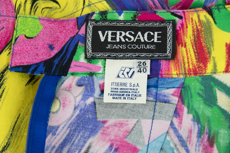 Vintage Versace Betty Boop & Marilyn Monroe Two Piece Suit