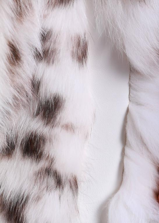 Versace Collection Fox Fur Jacket