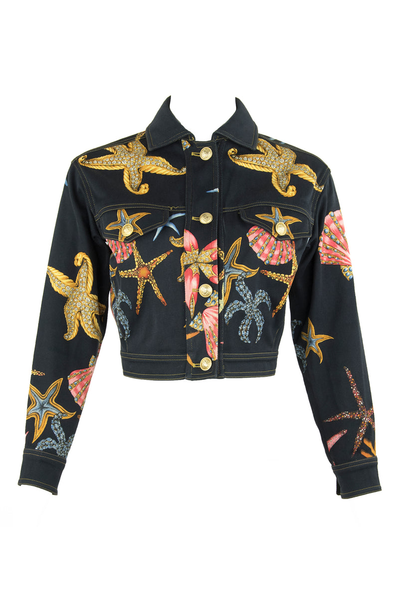 Vintage Gianni Versace Starfish Jacket