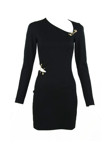 Versus by Versace Black Knit Dress