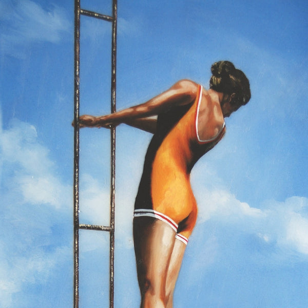 Woman Rising Up by Eric Zener, 2010