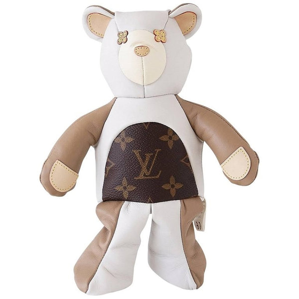 Louis Vuitton Monogram Dou Dou Teddy Bear Limited Edition 2017 Plush Doll