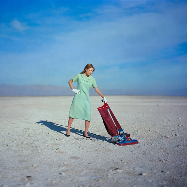 Vacuum by Tyler Shields, Digital Print, 2019