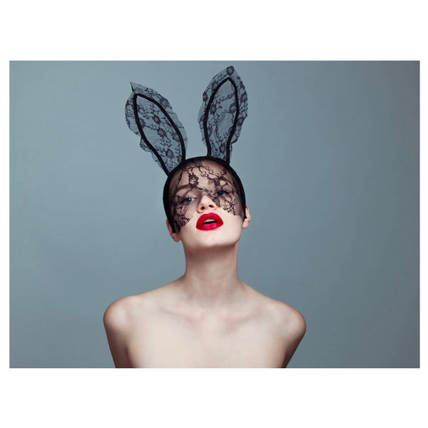 Bunny II by Tyler Shields, Digital Print, 2017