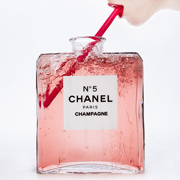 Chanel Champagne by Tyler Shields, Digital Print, 2016