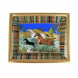 Hermes Change Tray Cheval d'Orient Porcelain New