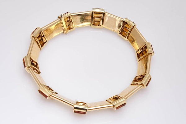 1960s Citrine Gold Collar