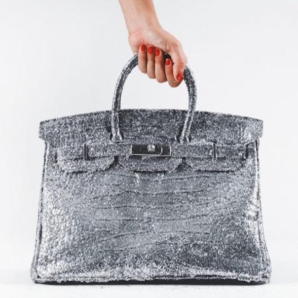 Glitter Birkin by Tyler Shields, Digital Print, 2018