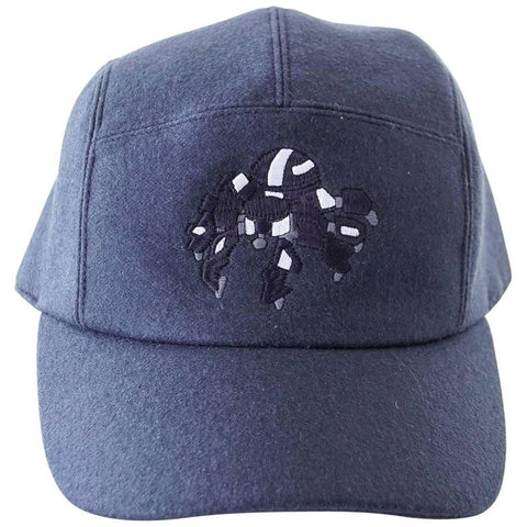 Hermes Cashmere Spider Robot Limited Edition Navy Cap Hat