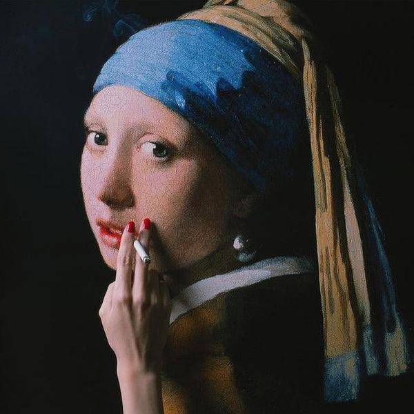 Girl with a Pearl Earring by Tyler Shields, Digital Print, 2018
