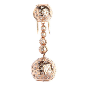 Van Cleef & Arpels Rose Gold Ball-Form Pin Watch