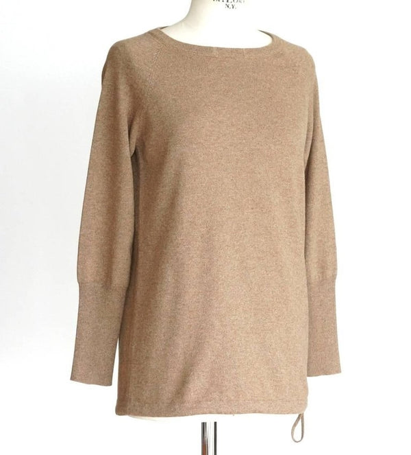 Brunello Cucinelli Sweater Cashmere Pullover Subtle Signature Bead Neck Detail M