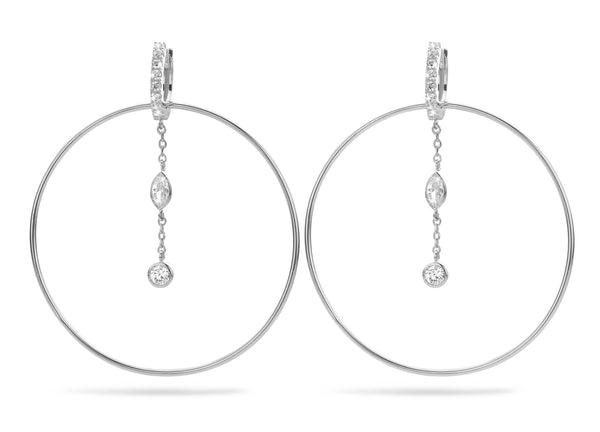Boucles d'oreilles Royal Hoops