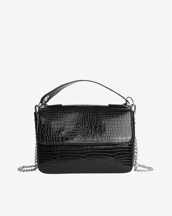 Sac Dally Croco noir