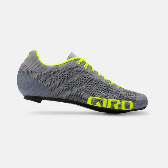 GIRO - EMPIRE E70 KNIT grey heather/highlight yellow