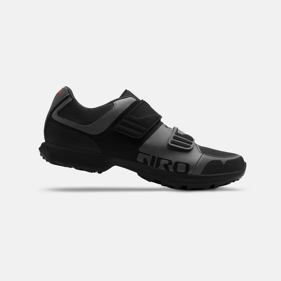 GIRO BERM dark shadow/black