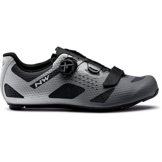 NORTHWAVE STORM CARBON Anthra/Silver Reflective
