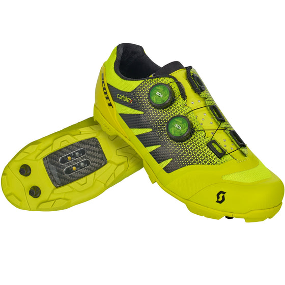 SCOTT - MTB RC SL SHOE Sulphur Yellow/Black