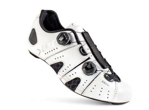 Lake - CX 241 White normal and wide insole