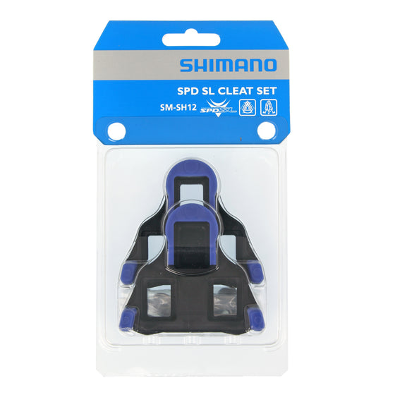 Shimano SPD-SL (SH-10 SH-11 SH-12) Blue, Yellow, Red