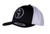 GRUTTO DESIGN Truckercap Black/White