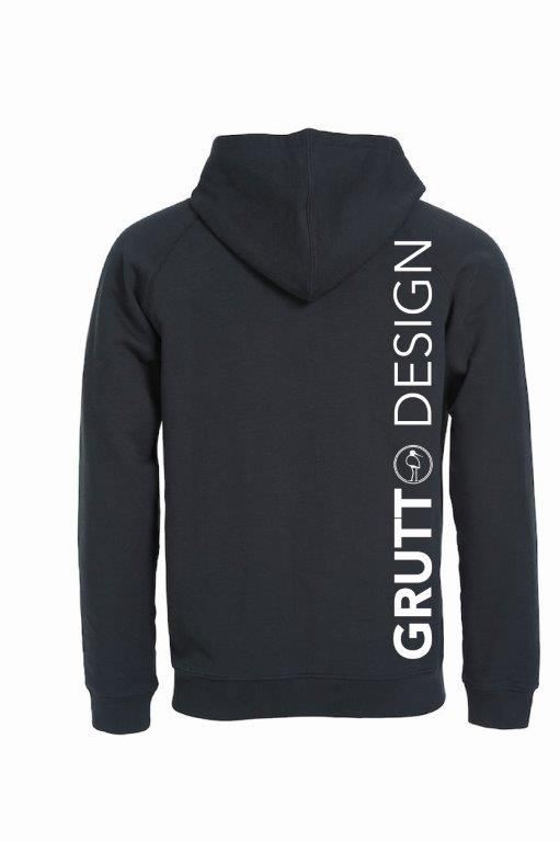 GRUTTO DESIGN HOODY Fancy Black