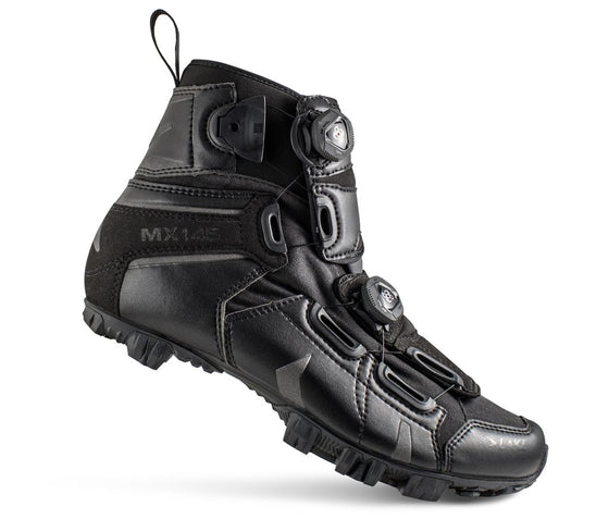 Lake - MX 145 Black (Normal and wide insole)