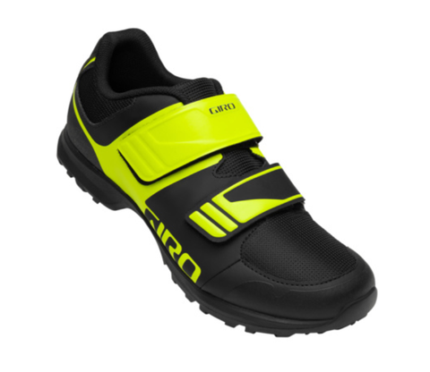 GIRO BERM black/yellow