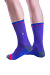 TEMPLE PROJECT RESPIRA COMPRESSION SOCKS Royal blue