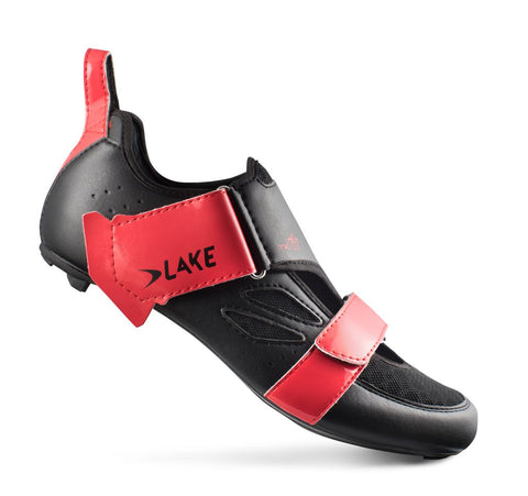 Lake - TX 223 AIR black/red (Normal and wide insole)