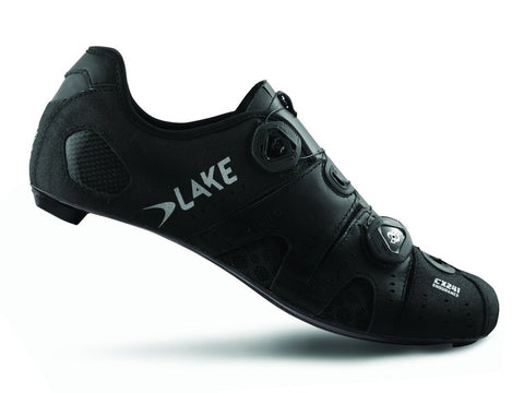 Lake - CX 241 Black Normal and wide insole