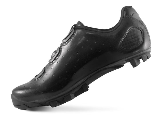Lake - MX 332 LITE Black/Silver (Normal, wide and extra wide insole)