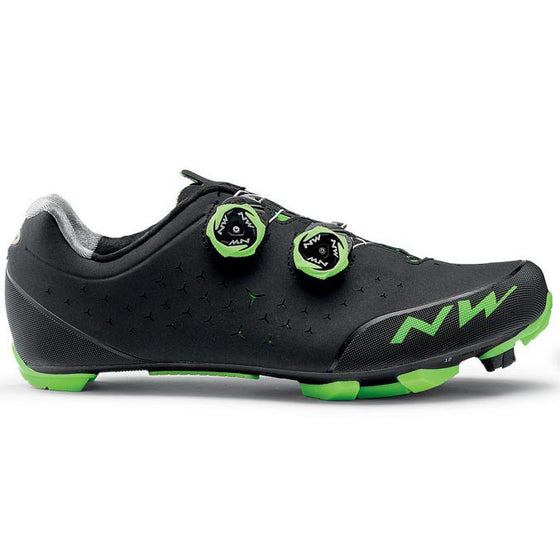 NORTHWAVE REBEL 2 Black/Green