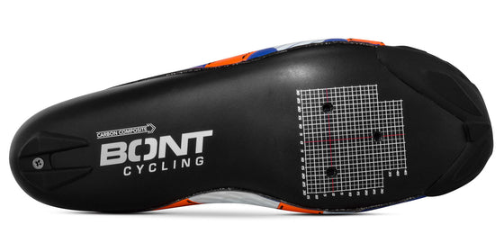 BONT RIOT+ Midnight/Mega Crimson