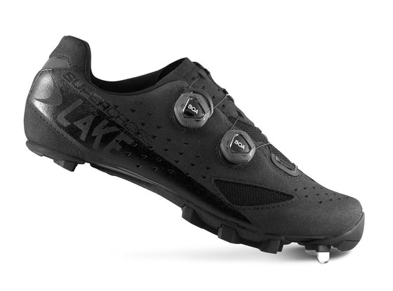 Lake - MX 238 SuperCross Black (Normal and wide insole)