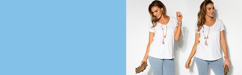 White Tee 101: The Right Style for Your Shape