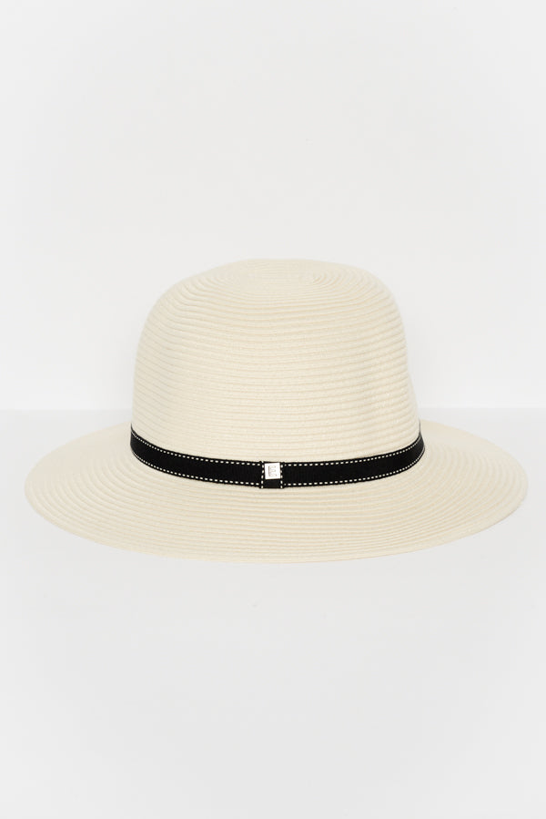 Ivory Travel Round Sun Hat - Blue Bungalow ?id=6345137324089