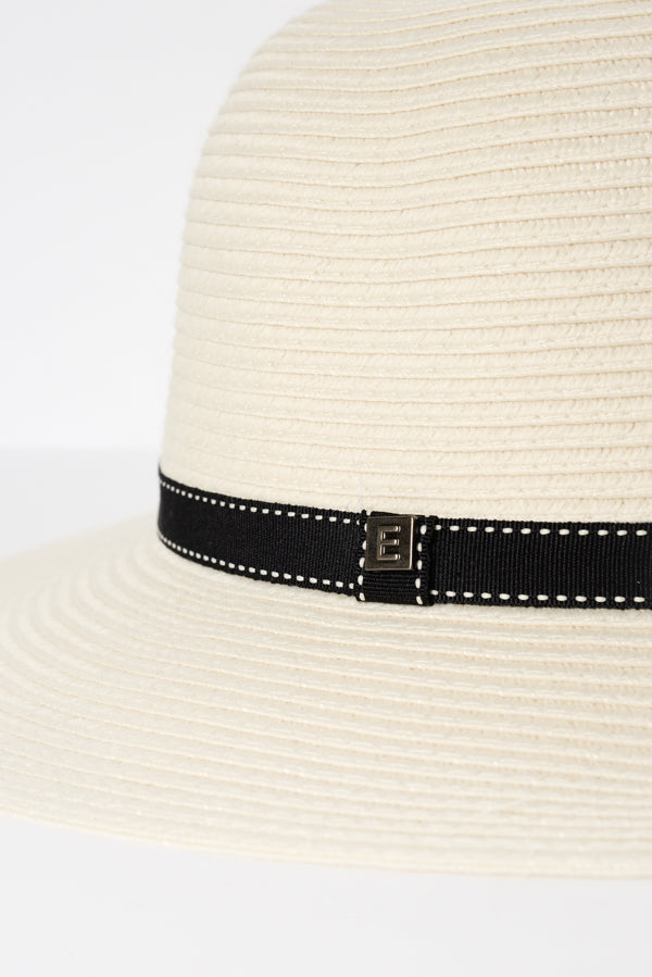 Ivory Travel Round Sun Hat - Blue Bungalow ?id=6345137389625