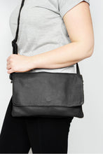 Black Fay Leather Sling Bag - Blue Bungalow
