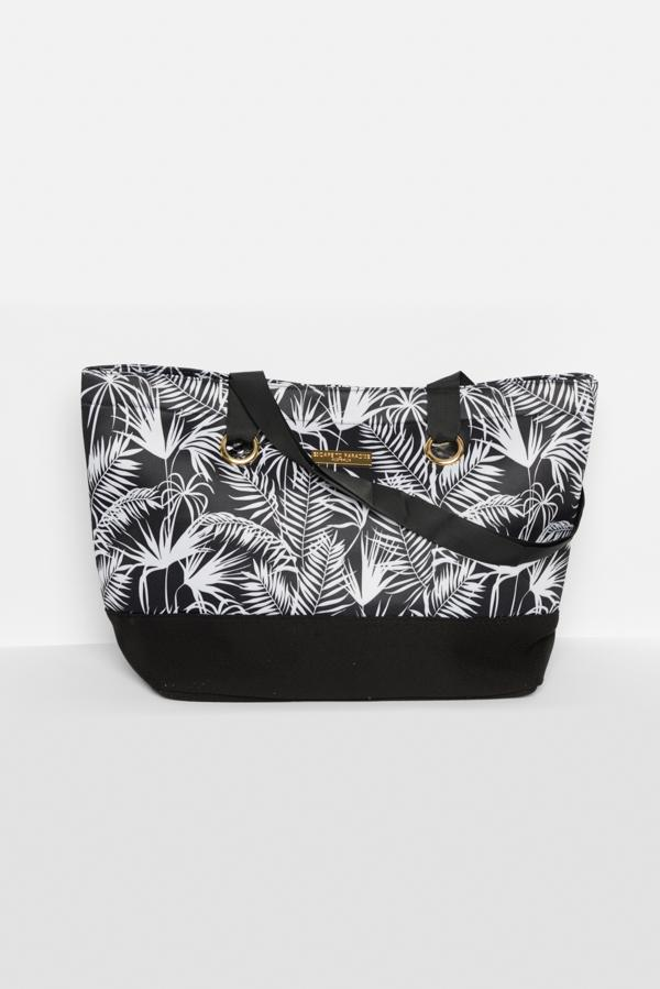 Black Polynesia Neoprene Bag - vendor-unknown - Blue Bungalow Online