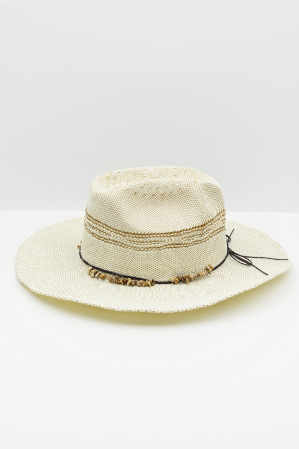 Ivory Rock Cowboy Hat - Before Dark - Blue Bungalow Online