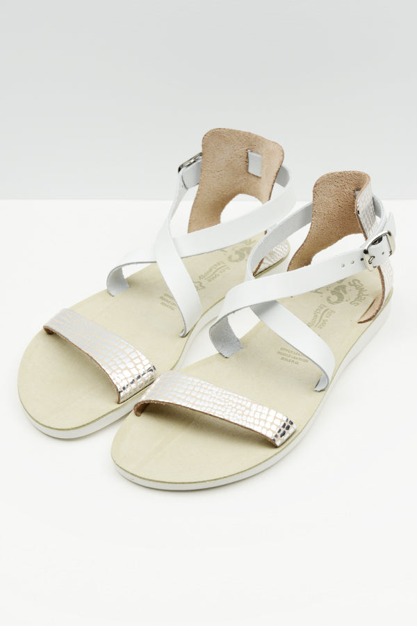 SIlver Lizard Billy Sandal - vendor-unknown - Blue Bungalow Online