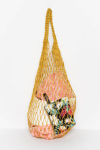 Yellow Jute String Bag - Carnival - Blue Bungalow Online