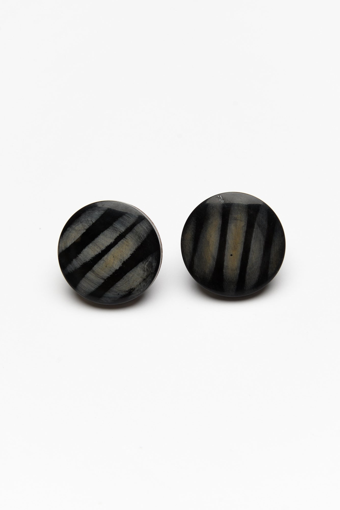 Orion Black Stripe Stud