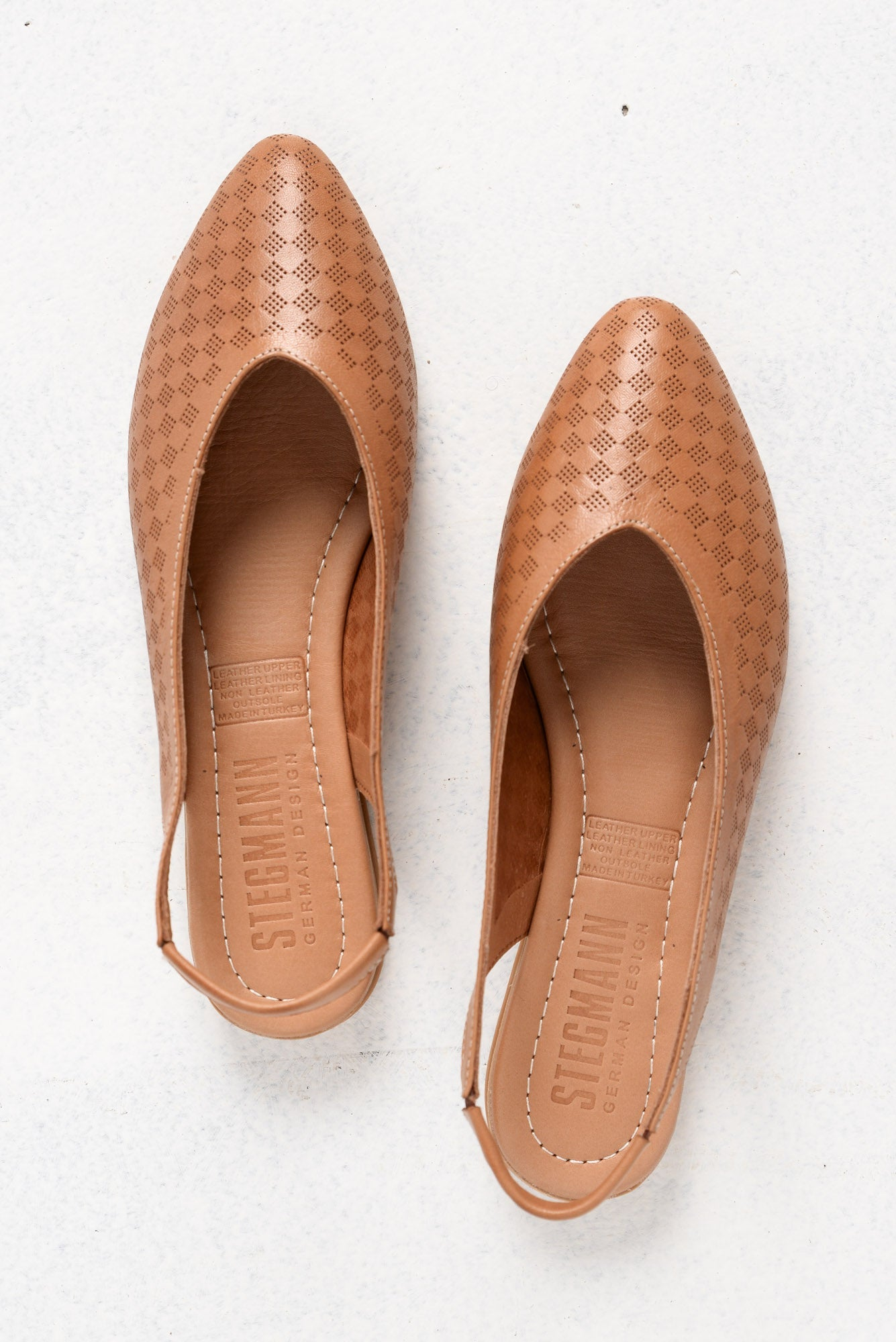 Aries Coconut Leather Slingback Shoe